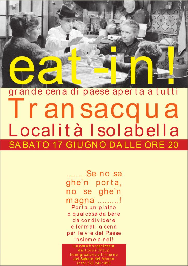 2017 Locandina Eat-In