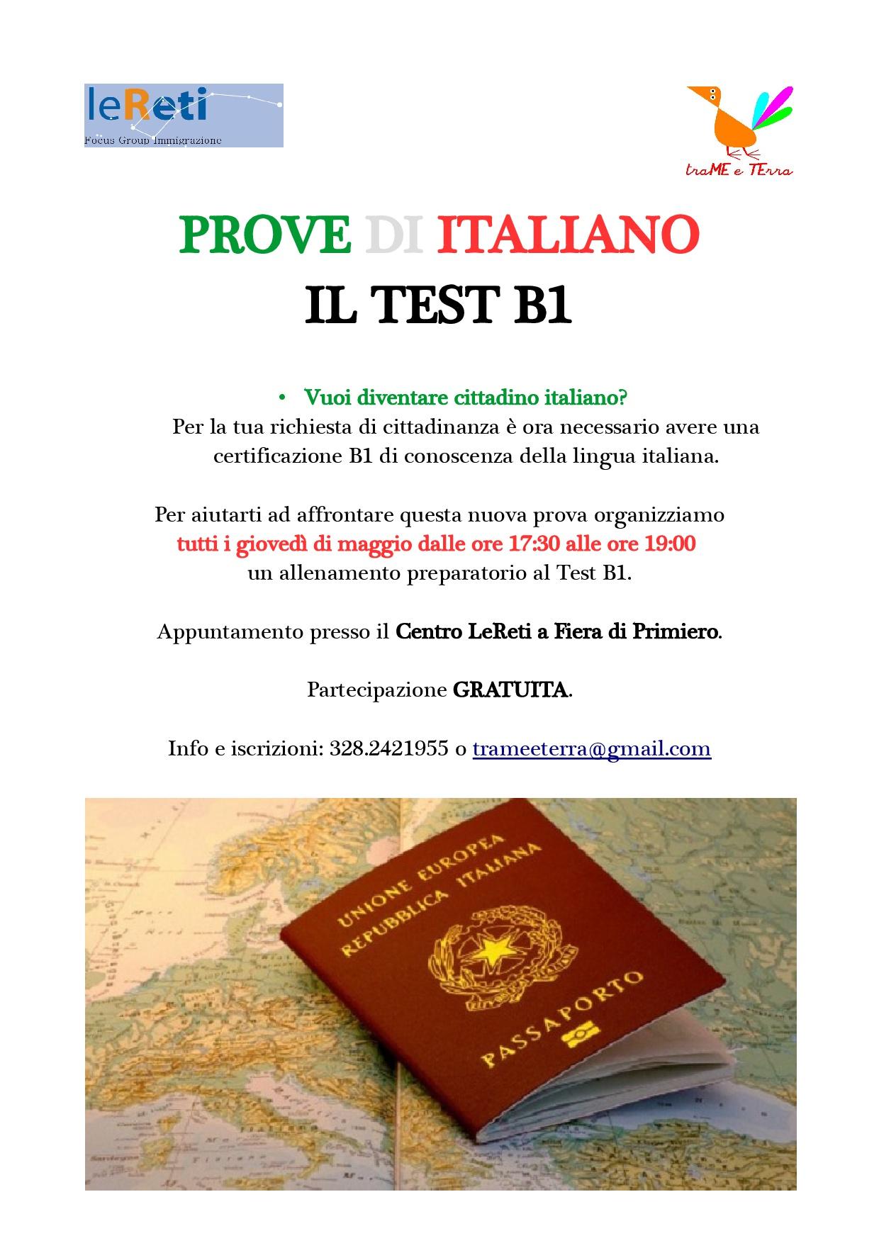 Test B1_locandina