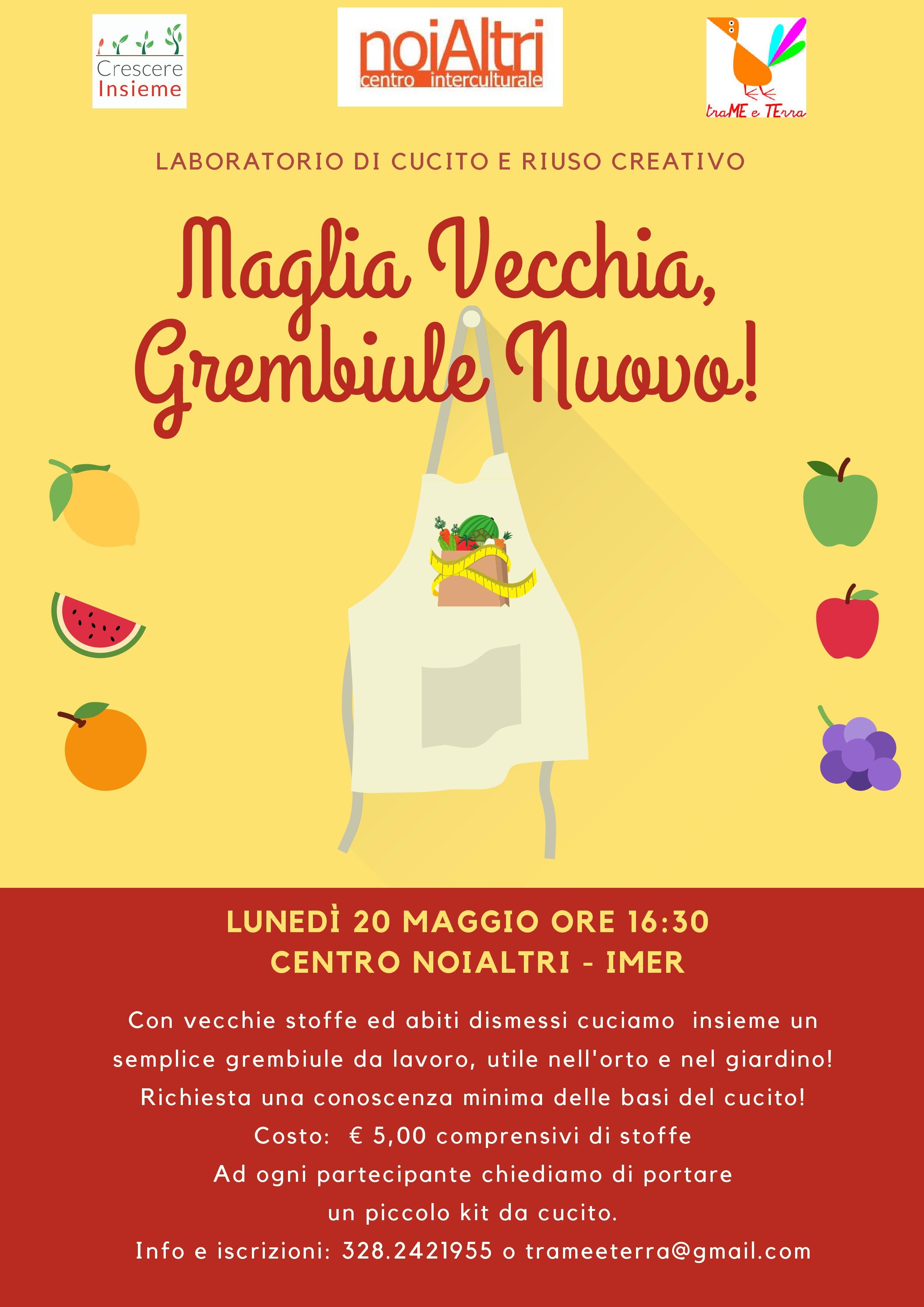 Maglia Vecchia, Grembiule Nuovo! (1)
