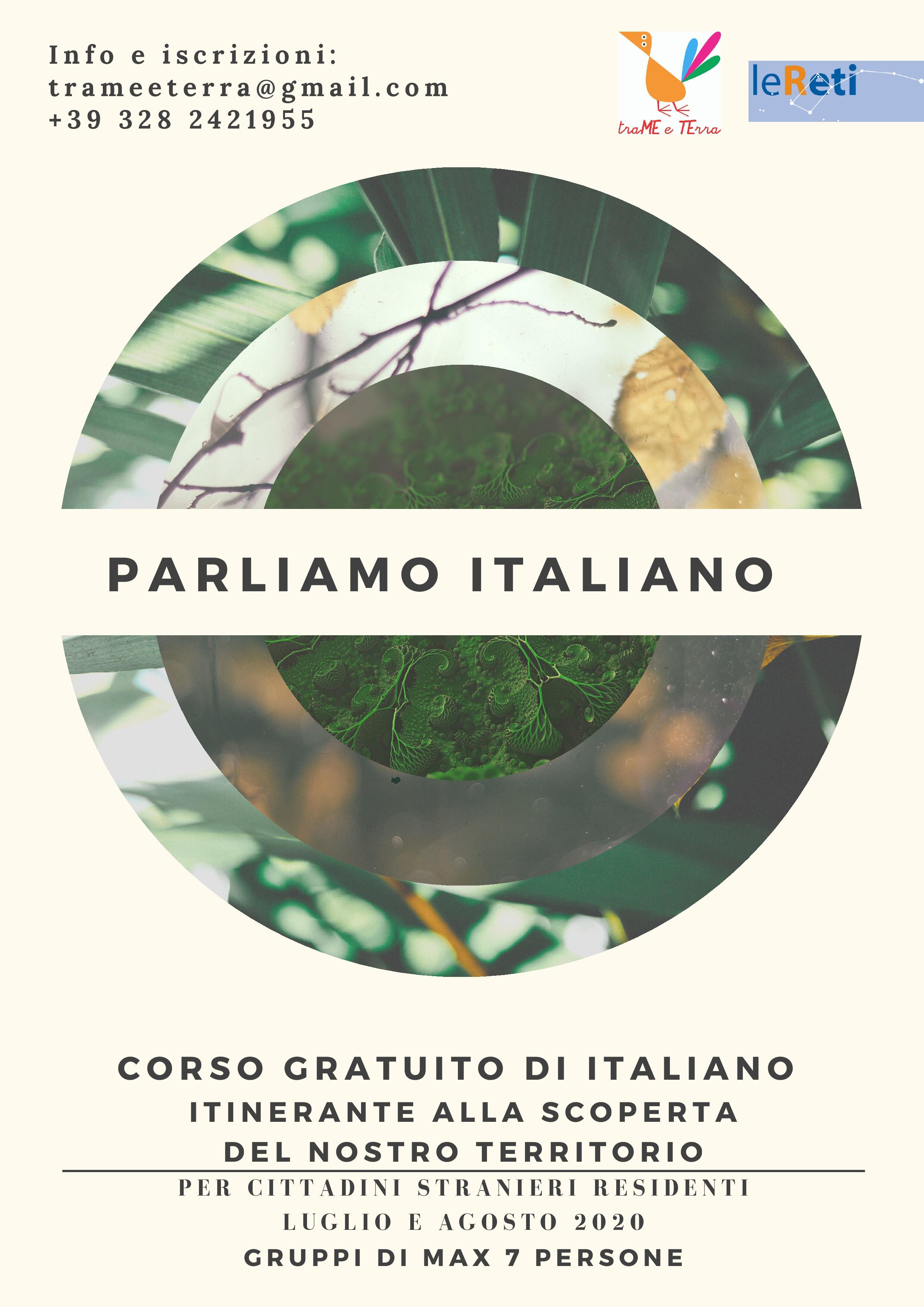 PARLIAMO ITALIANO_luglio-agosto 2020